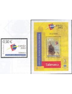 Año 2002 - 3877/78 Exposición Mundial de Filatelia Juvenil España 2002