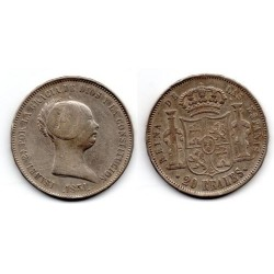 1851 ISABELL II 20 REALES
