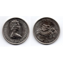 1952/1977 Twenty Five Pence of Guernsey