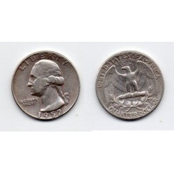 1952 EEUU 1/4 DÓLAR plata, George Washington