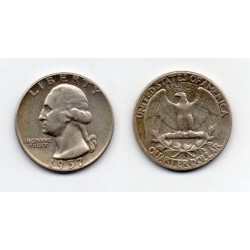 1957 EEUU 1/4 DÓLAR plata, George Washington