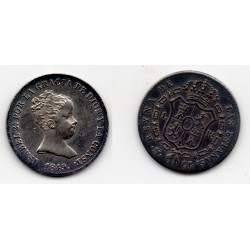 1849 Isabell II - 1 real 1849 ceca Madrid