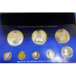 1976 Set de monedas de plata Filipinas