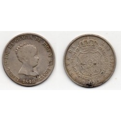 1849 Isabell II - 4 reales 1849 Madrid