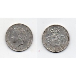 1894 50 ctmos plata Alfonso XIII
