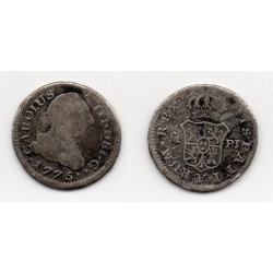 1775 1/2 Real plata Carolus III Madrid