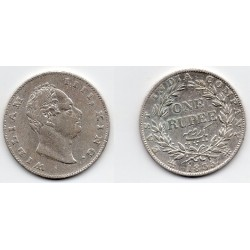 1835 India británica 1 rupee William IIII