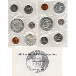 1972 REP. PANAMÁ - Proof Sets