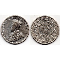 1918 India británica 1 rupee George V