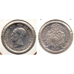 1926 50 ctmos plata Alfonso XIII