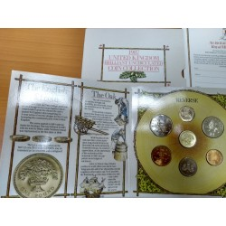 1987 Reino Unido - Brilliant Uncirculated Coin Collection