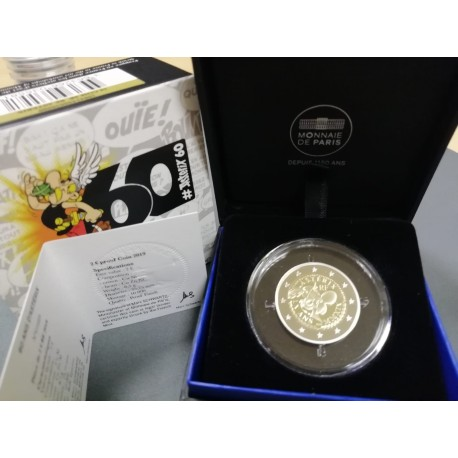 2019 Francia - Moneda 2 euros Proof Asterix