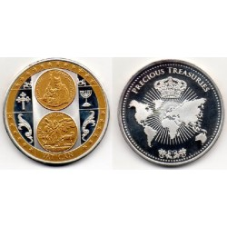 2002 Vaticano Medalla Precious Treasuries