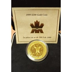 1999 Canadá 200 Dolars oro, The Butterfly