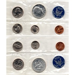 1965 EEUU Set uncirculate coins