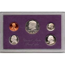 1984 EEUU Proof Set Kennedy