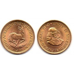1962 Sud Africa, 2 Rands
